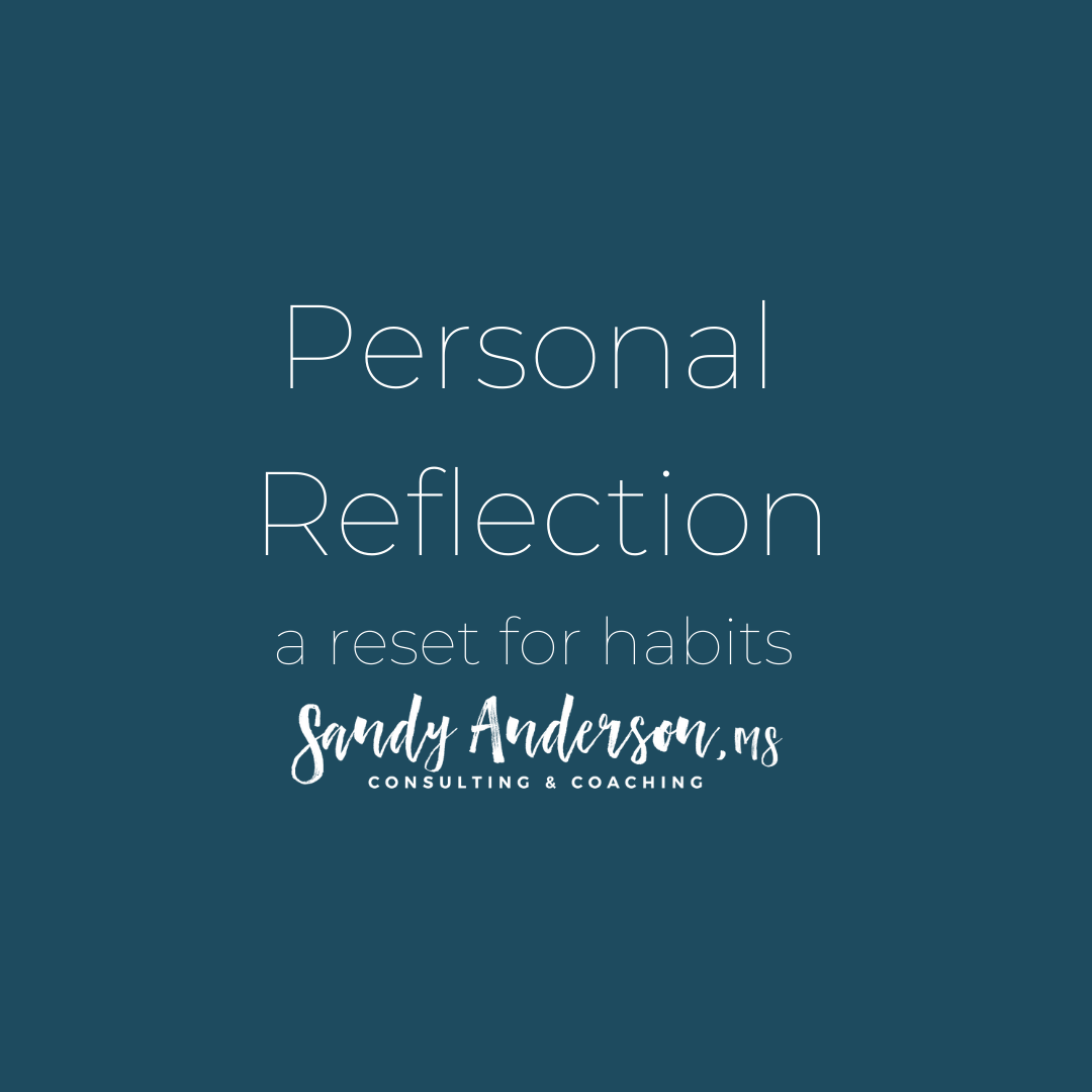 Personal Reflection Tool